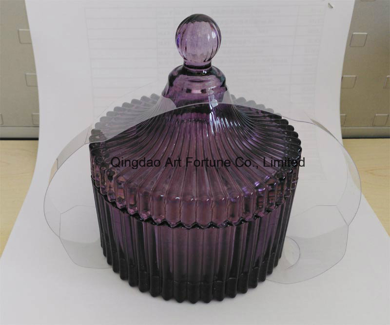 Luxury Scented Glass Jar Candle in Gift Box