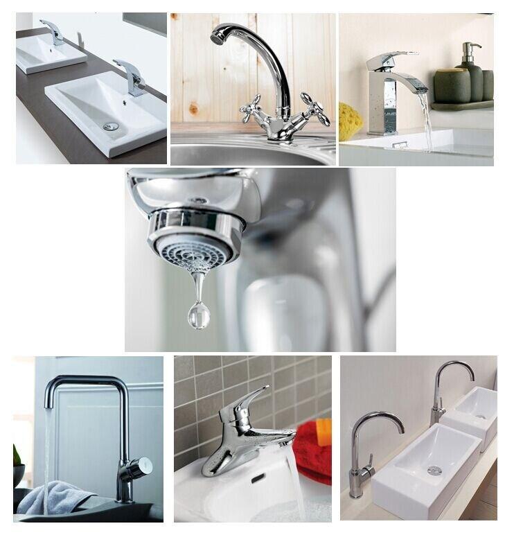 Sanipro High Quality Chrome Bathroom Washbasin Faucet
