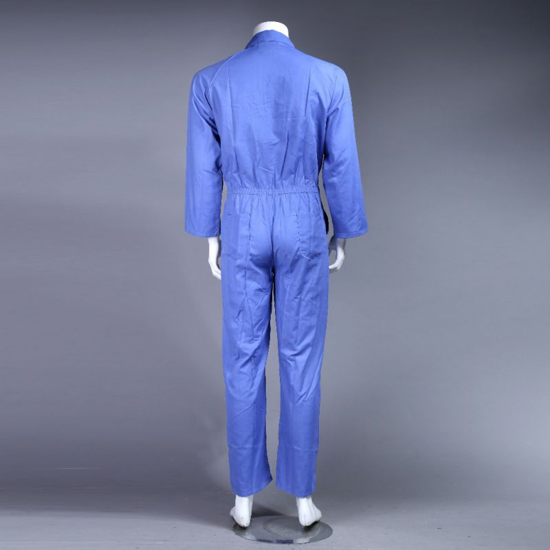 100% Polyester High Quality Cheap Dubai Safety Coverall Workwear (BLUE)