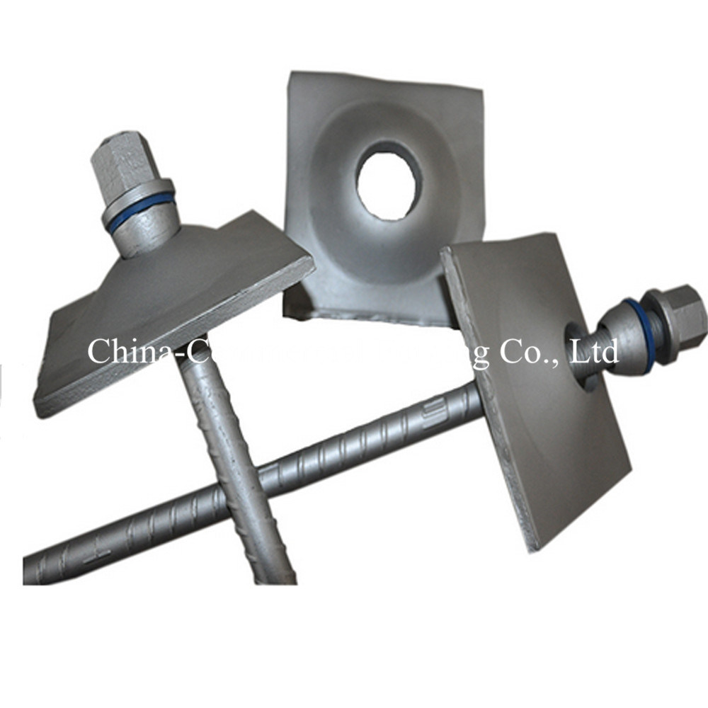 Ground Support Self Drilling Threaded Steel Bar Anchor Mining Rock Bolt