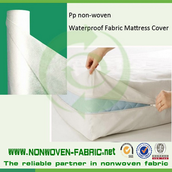 Polypropylene Waterproof Mattress Protector Fabric