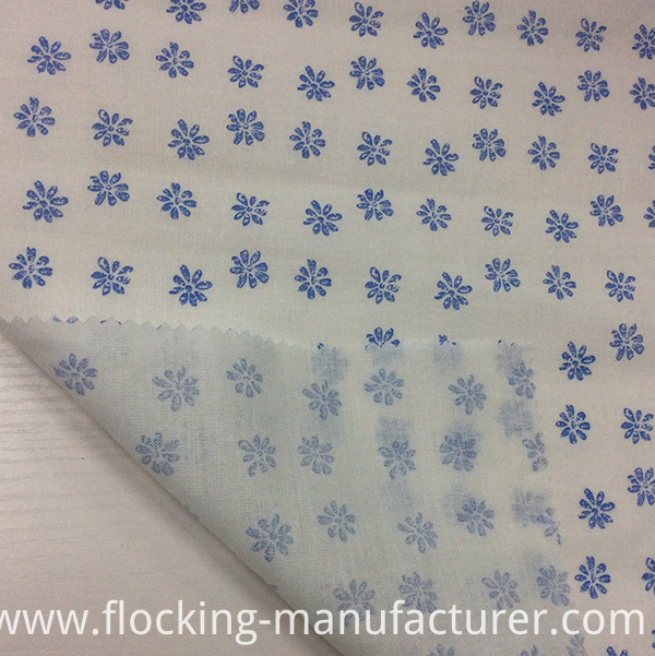 Ramie/ Cotton Blended Floral Printing Fabric for Garment/ Home Textile