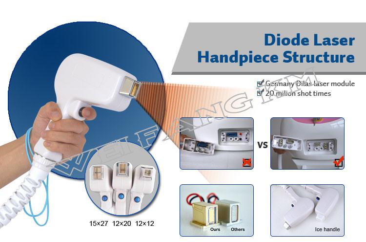 Painless Hair Removal Machine IPL Shr Elight 808nm Diode Laser