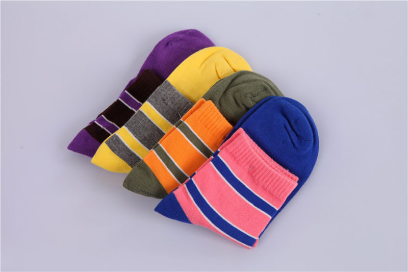 Fall Fashion Girl Cotton Socks Bright Colors Made From Fine Cotton
