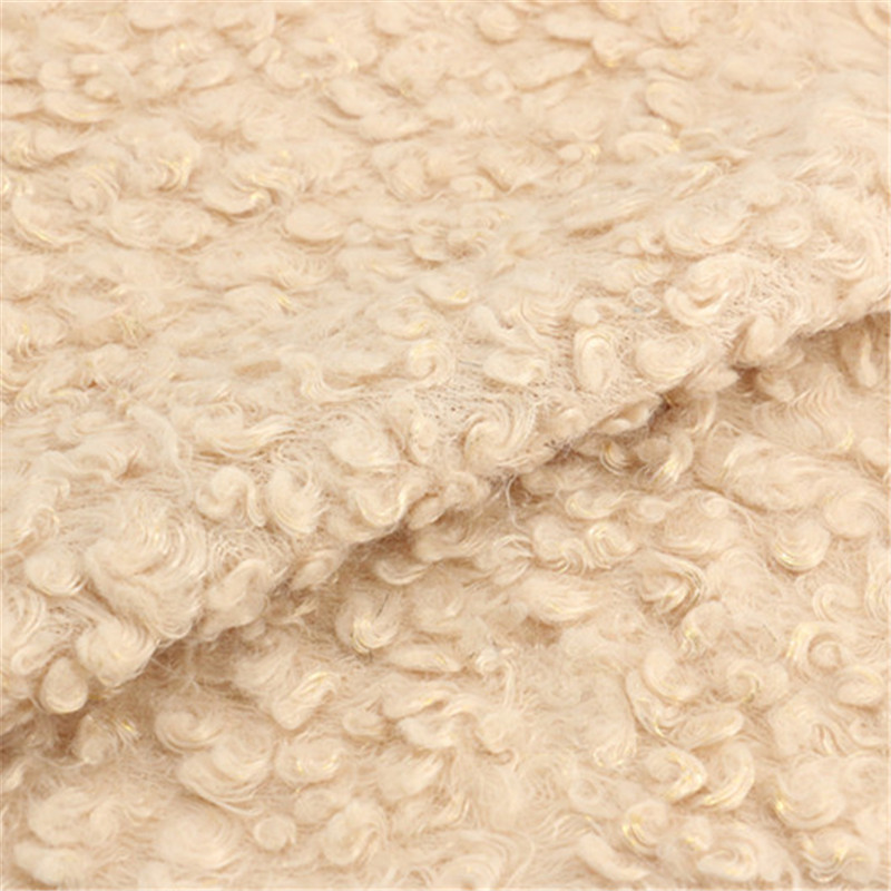 100% Polyester Woolen Fabric for Women Garment