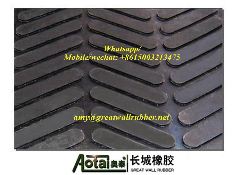 M-Patterned Non-Slip Animal Mat, Cow Mattress, Rubber Flooring for Horses