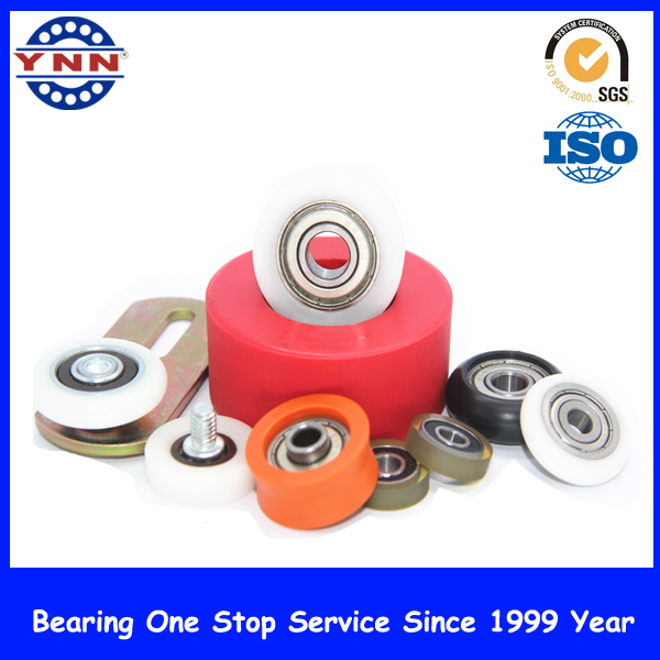 Colors Nylon Pulley Plastic Deep V-Groove Ball Bearing