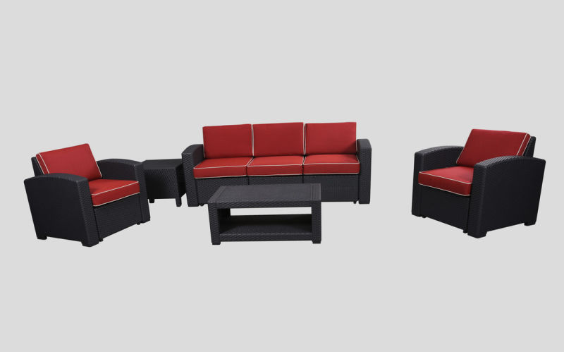 Hot Sale Plastic Garden Sofa, Leisure Sofa, Patio Sofa, Plastic Injection Sofa