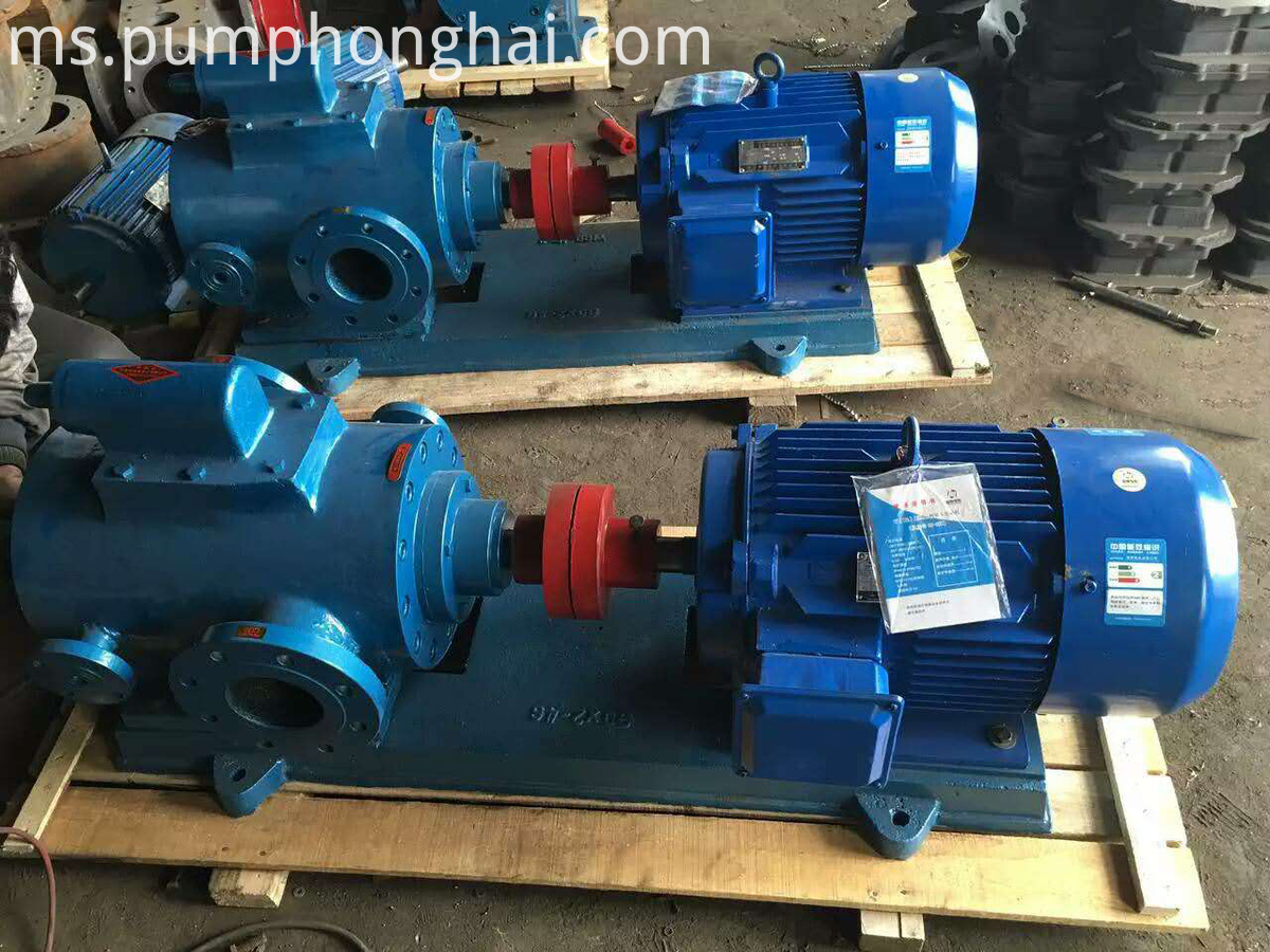 Low Price High Temperature Three Screw Bitumen Pump
