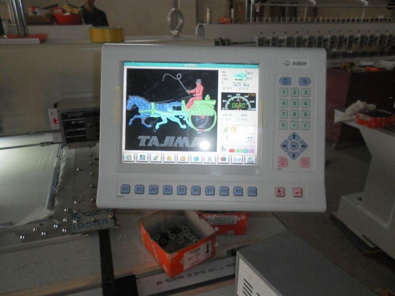 Venssoon 910 Model Computerised Flat Embroidery Machine