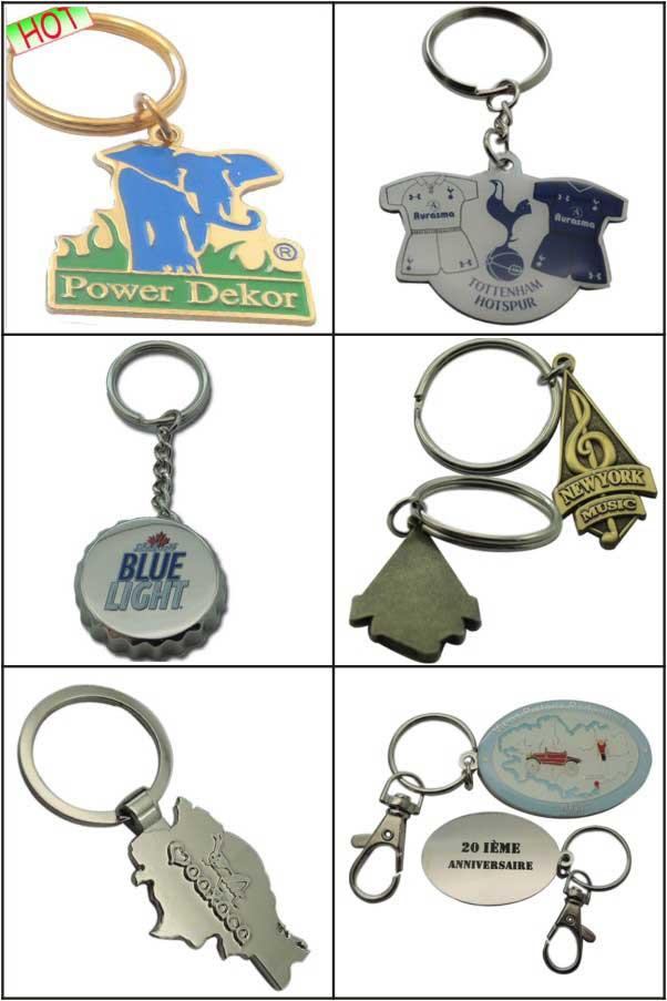 Custom Logo Promotion Keychain Wholesale (LM1768)