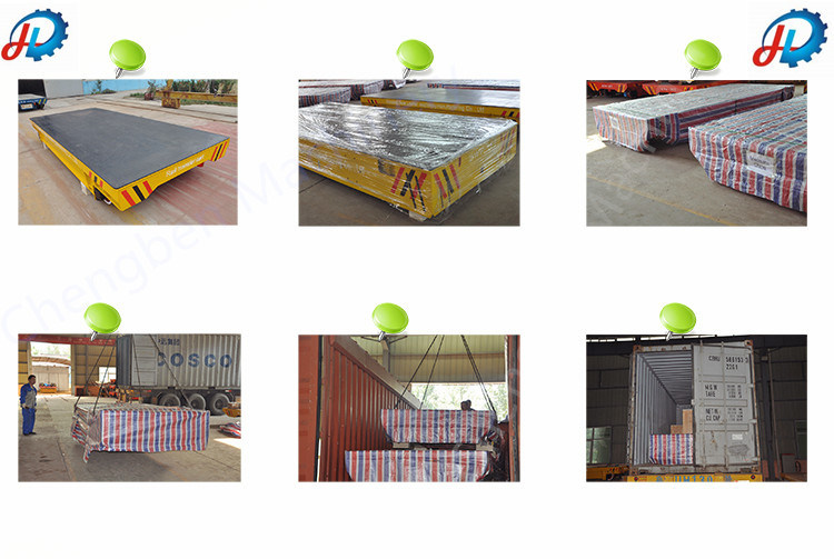 Abrasive Blasting Transfer Mobile Cable Powered Railroad Trolley