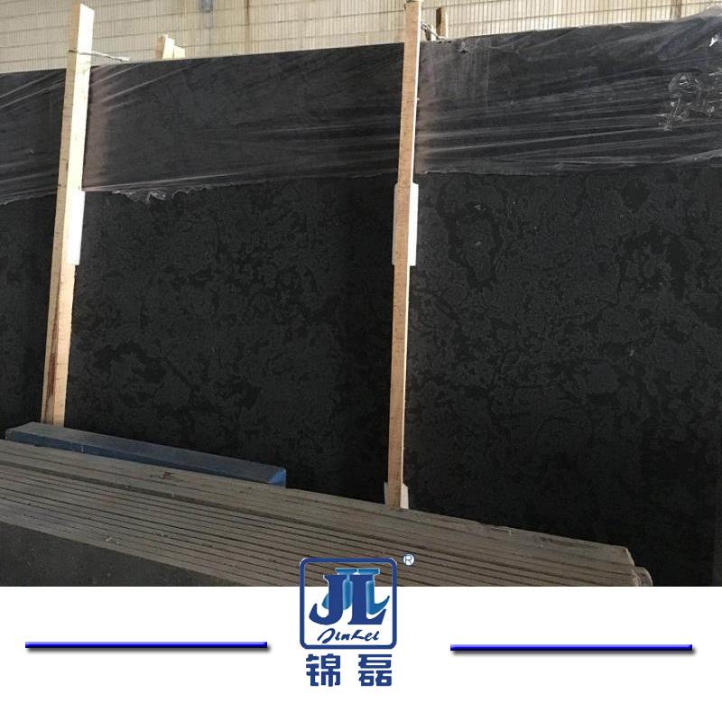 Hot Sales Natural Black Diamond Marble Slabs for Interior Decoration