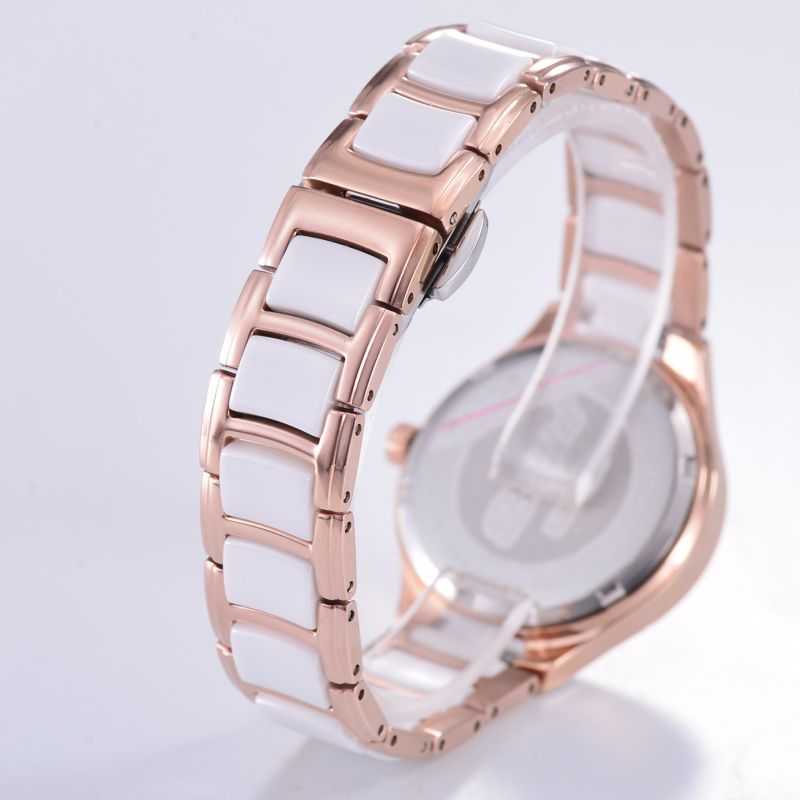 Elegent Ceramic Hot Sale Wristwatch for Women
