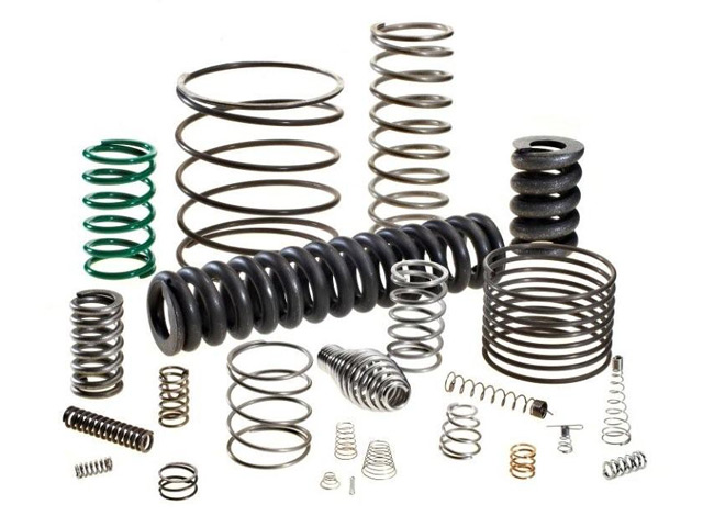 Left Hand Wind Automotive Compression Spring