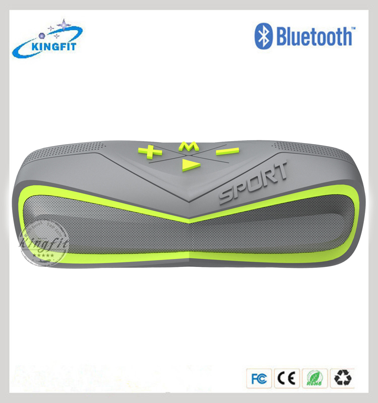 2016 New Bluetooth Shock Proof Speaker Ipx7 Waterproof Speaker