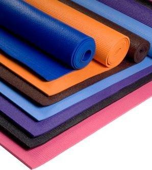 PVC Black Yoga Mat