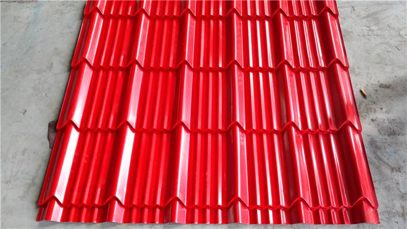 Metal Roof Tile Panel Profile Making Machine