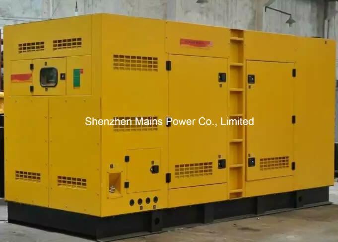 350kVA 280kw Cummins Diesel Generator Set Soundproof Enclosure Canopy