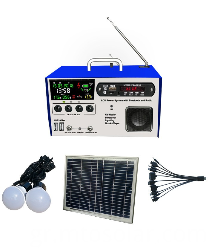 solar lighting kit