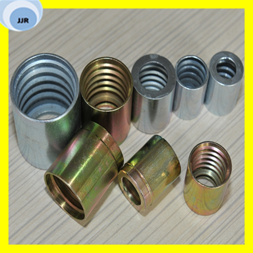 Carbon Steel Hydraulic Hose Ferrule Fittings for Hydraulic Assembly