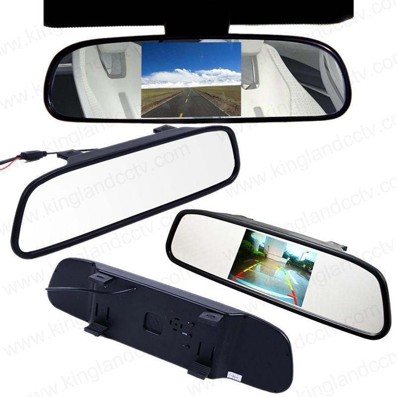 4.3inch Car Backup Back up Rear View Mirror Monitor