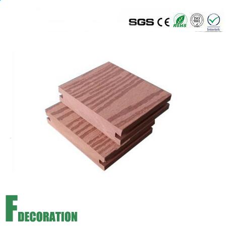 96*20mm WPC Wood Plastic Composite Outdoor Decking Floor