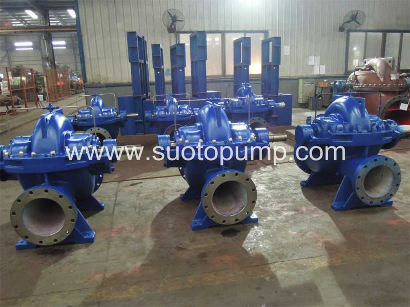High Flow Rate Vertical Split Case Pump