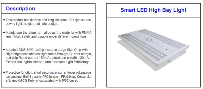 Battery Backup Linear High Bay Ligh