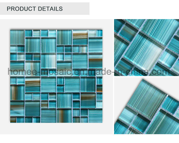 Cheap Price Special Green Glass Mosaic for Swimming Pool Tile