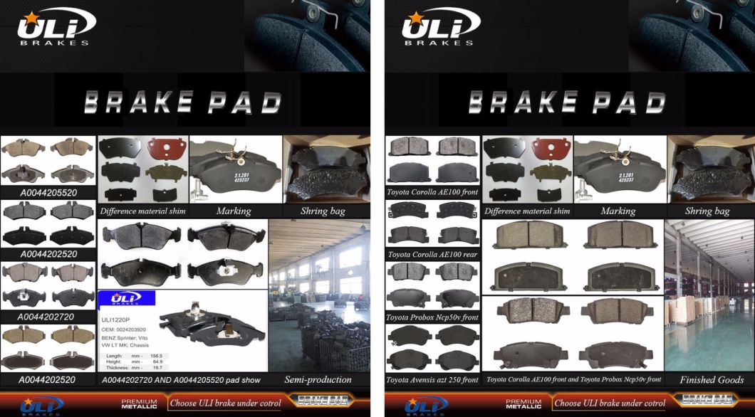 Supply Semi-Metallic Ford Front Brake Pad