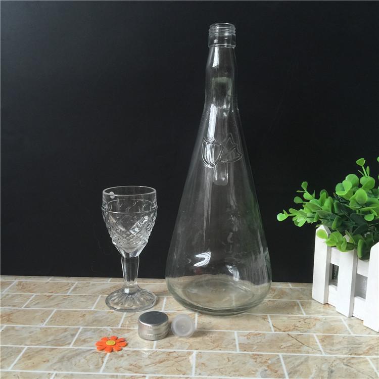 Glass Wine Bottle 1000ml on Sale