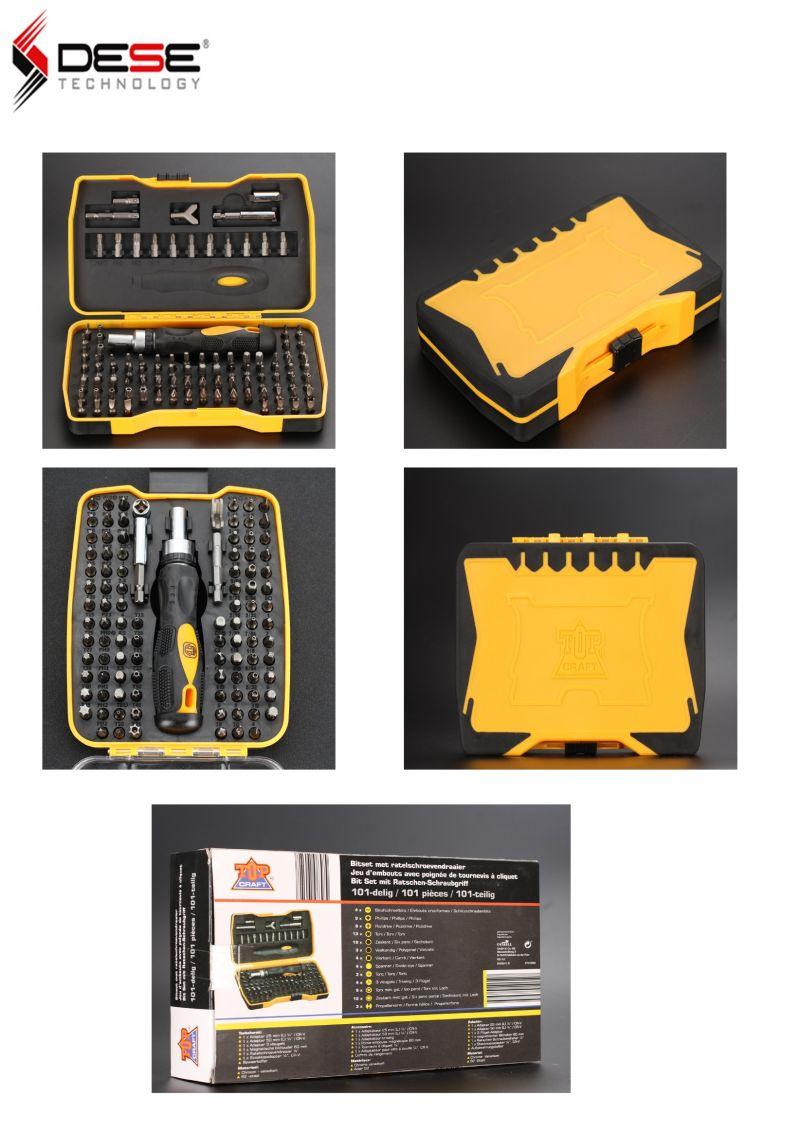 Hand Tool 101 PCS Screw Driver Bits Rechargeable Ratchet Screwdriver Set