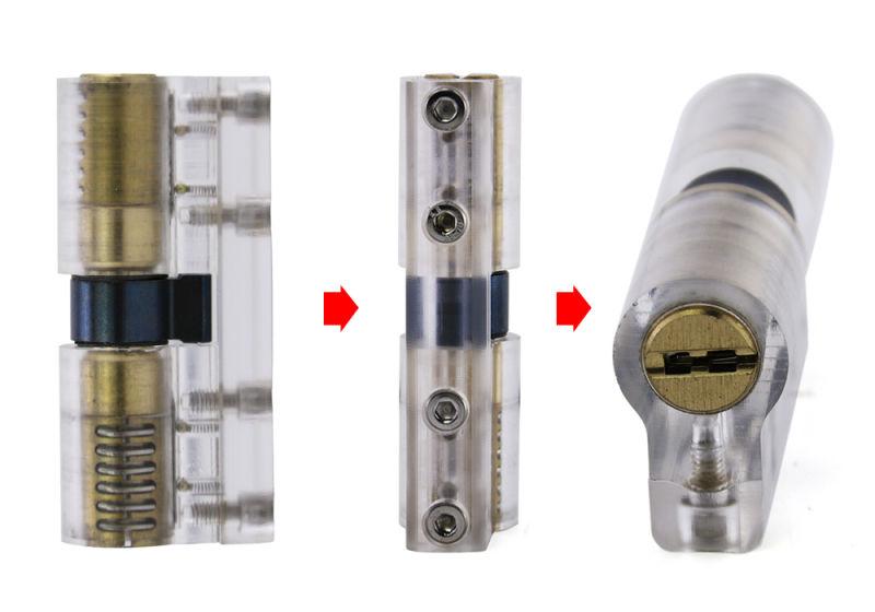 Transparent Free Rotation blade Lock