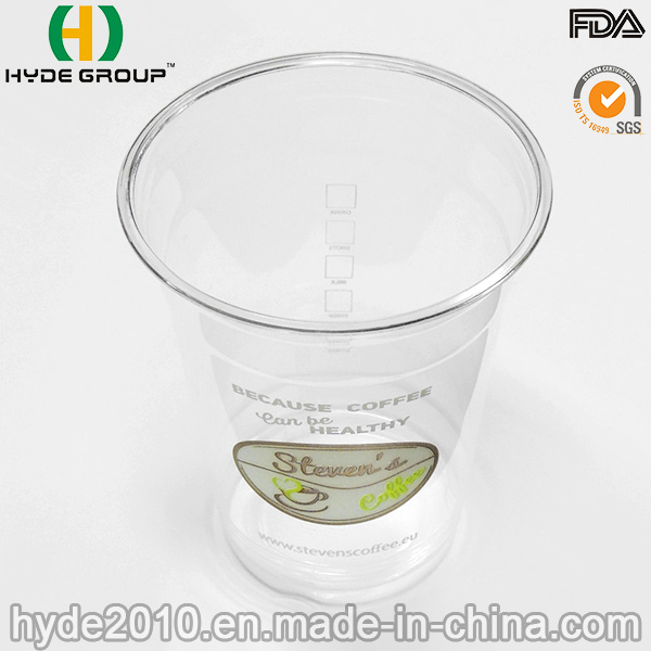 Transparent Pet Disposable Cup for Ice Cream