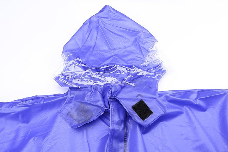 Custom Logo Printed Disposable Rain Poncho/PVC Raincoat