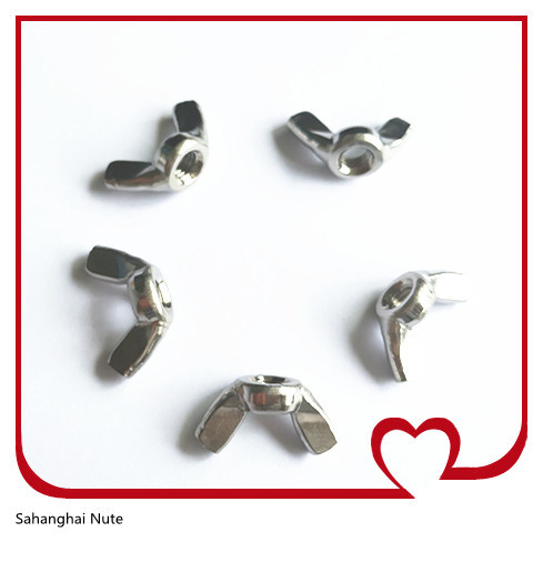 DIN315 Wing Nuts, Stainless Steel 304 or 316 M4