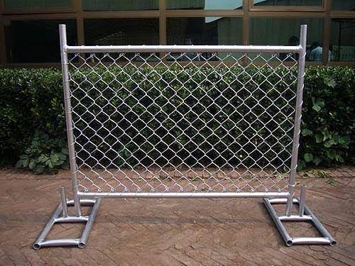 PVC Coated/Galvanized Temporary Fence