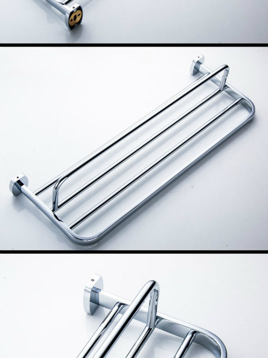 Bathroom Bath Towel Shelf Towel Rack
