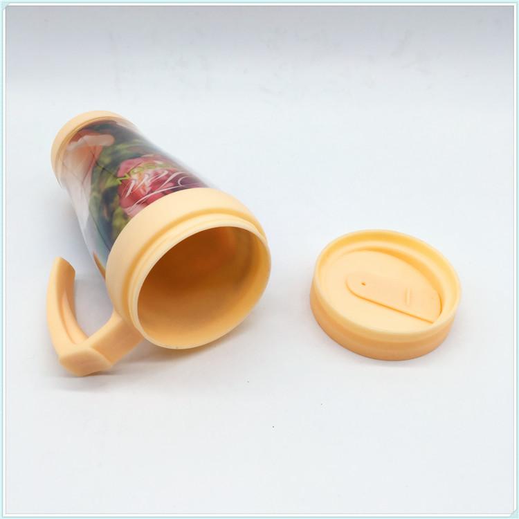 400ml Plastic Water Mug, Coffee Mug with Handle (SH-PM03)