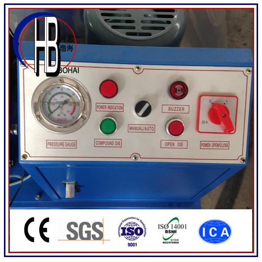Low Price Good Quality 1/8''-2'' Manual Hose Crimping Machine