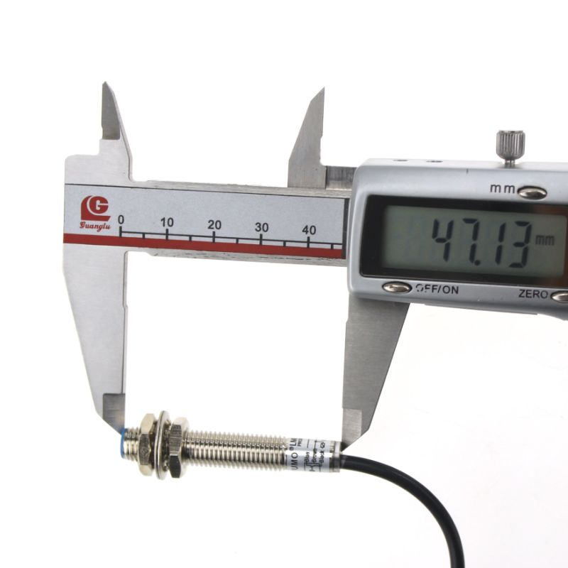 Yumo Lm8-3001na Series M8 Mini Cylinder Inductance Proximity Switch Sensor