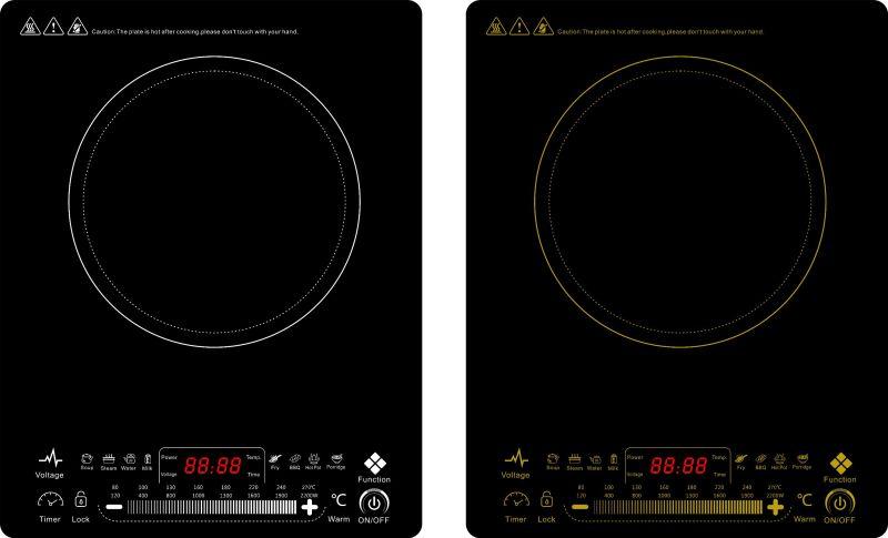 Kitchen Appliance Super Slim Electric Induction Cooker for Vietnam market