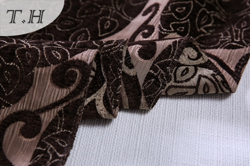 Chenille Fabric for Upholstery Design for Seat and Chair Covers