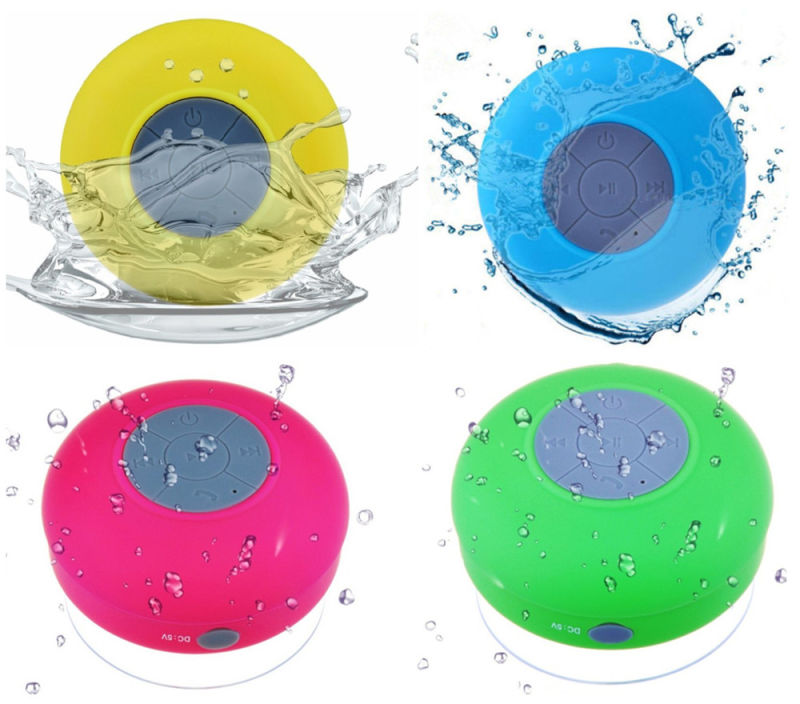 Handsfree Portable Shower Mini Speaker with Suction Cup