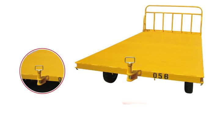 Airport Steel Baggage Cart