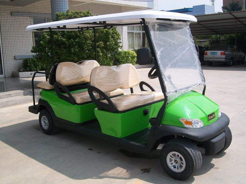 Ce Approved 6 Seater Electric Golf Cart for Tourist