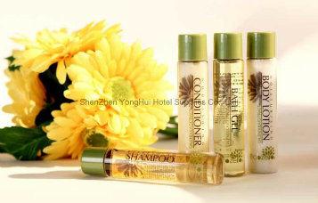 Professional Hotel Shampoo /Bath Gel/Conditioner/Body Lotion Bottle Supplier