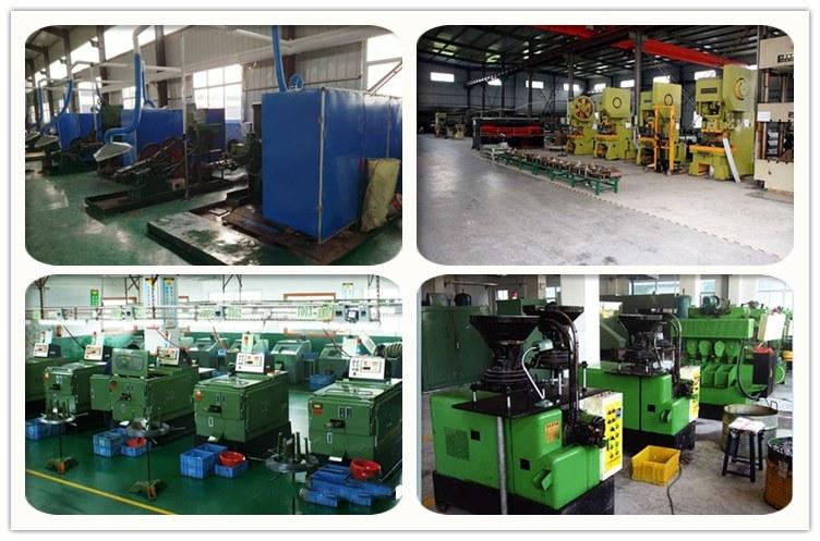 China Custom Stainless Steel Pan Washer Head Machine DIN7991 Screw