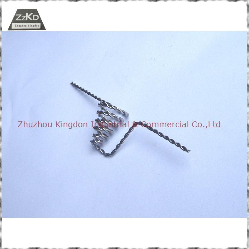 Tungsten Filament Stranded Tungsten Wire Tungsten Heater Element